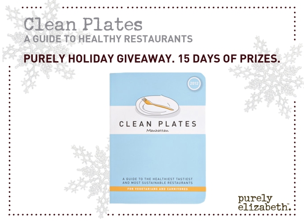 Purely Holiday Giveaway Clean Plates