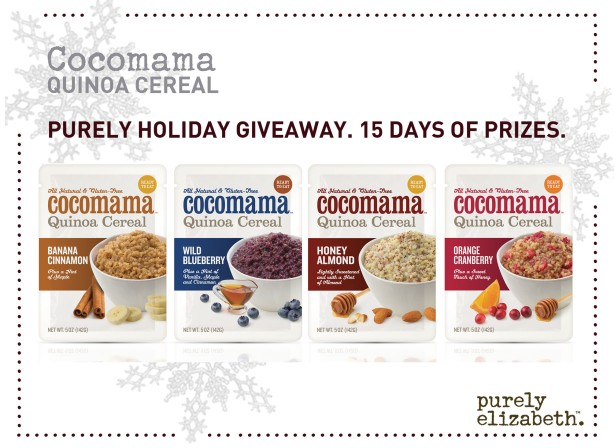 Purely Holiday Giveaway Cocomama