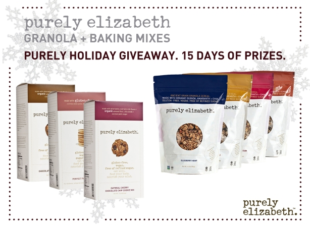 Purely Holiday Giveaway Purely Elizabeth