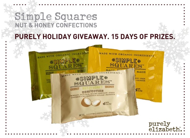 Purely Holiday Giveaway Simple Squares
