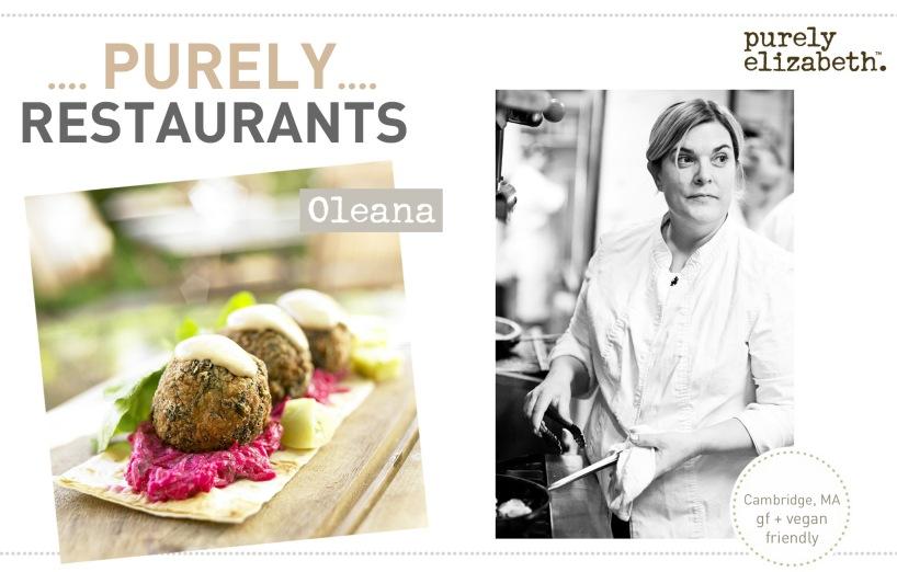 Purely Restaurants Oleana