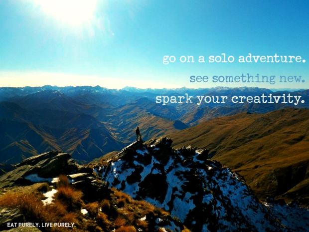 Go On a Solo Adventure