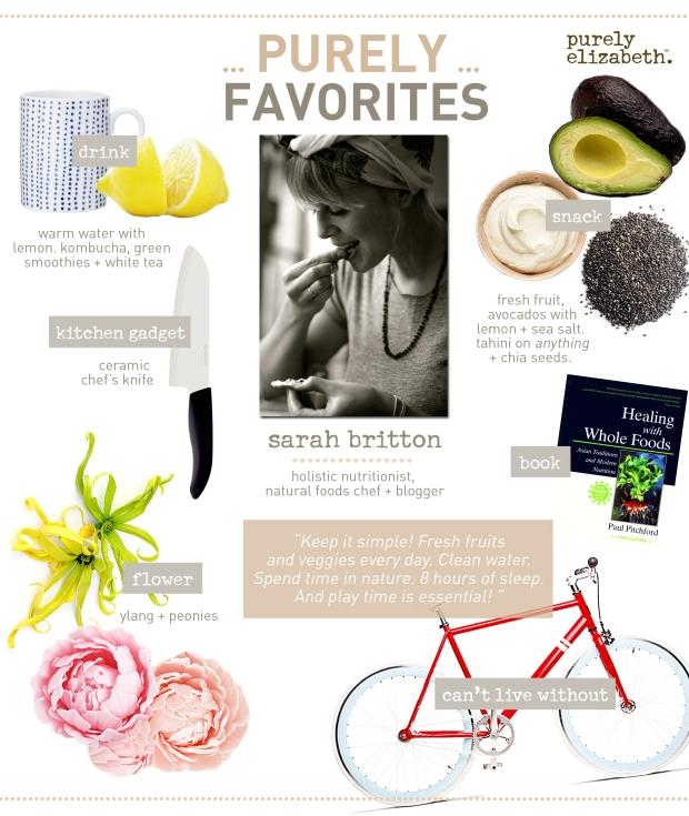 Purely Favorites Sarah Britton
