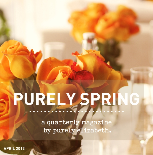 Purely Spring Cover