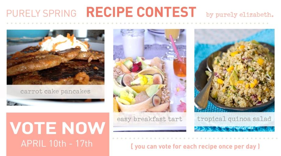 Purely Spring Recipe Contest Vote