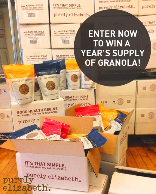 Enter now to win a year s supply of granola eat purely for Enter now to win