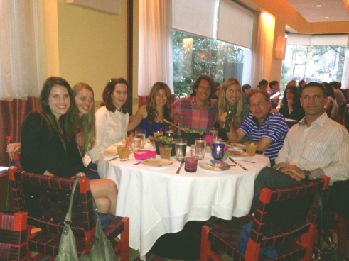 Group SOFI Dinner Photo