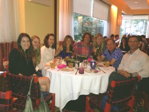 Group SOFI Dinner Photo