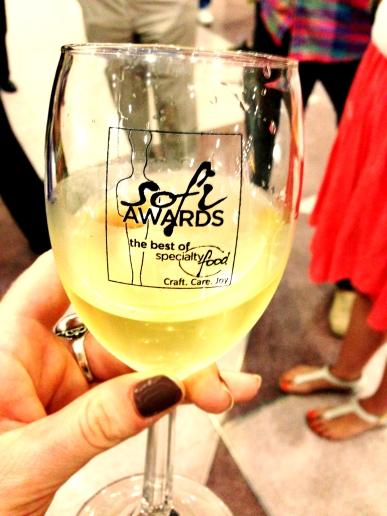 Sofi Award Wine Glass
