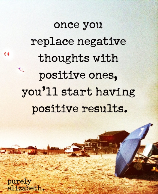 Once You Replace Negative Thoughts