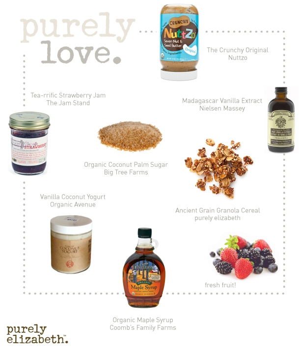 Purely Love Oatmeal Toppings
