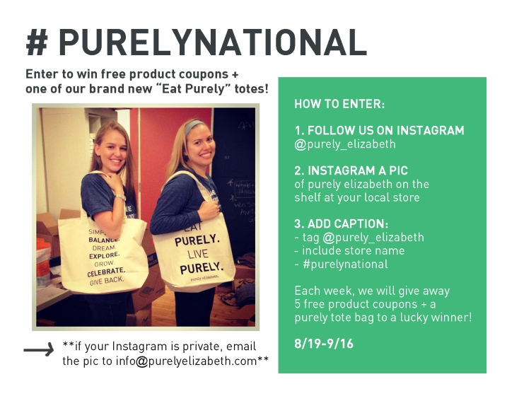 Purely National Tote Julie and Megan
