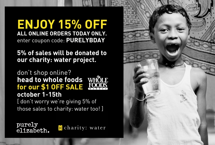 Charity Water Facebook Bday Sale