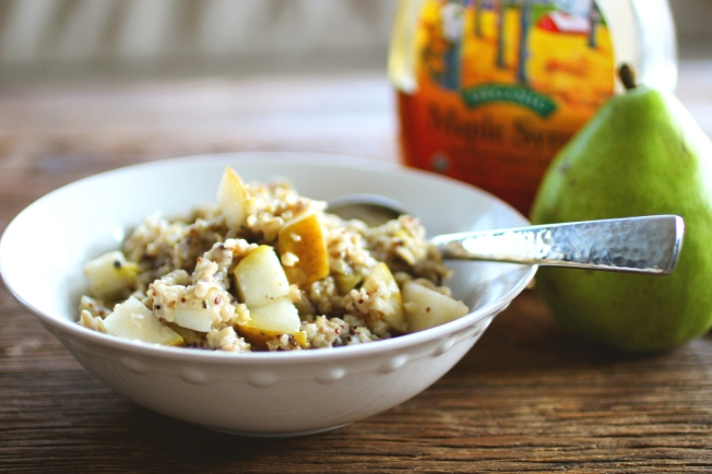 Pear Ginger Oatmeal 2