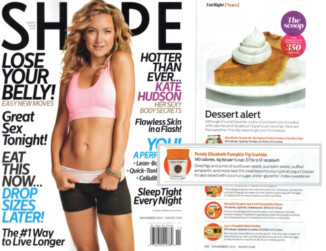 Shape Magazine November 2013