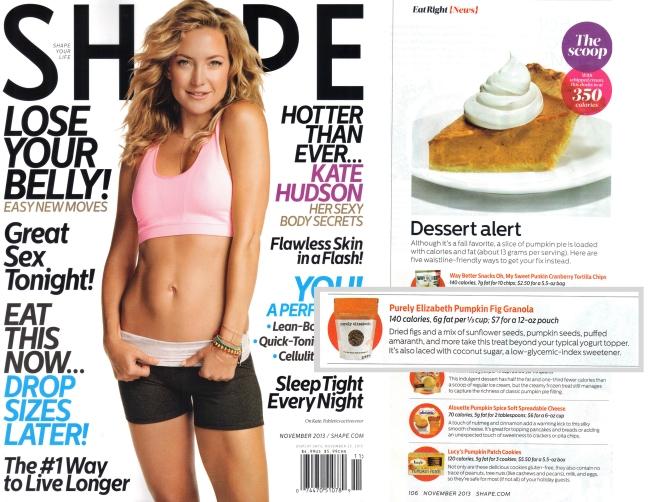 Shape Magazine November 2013
