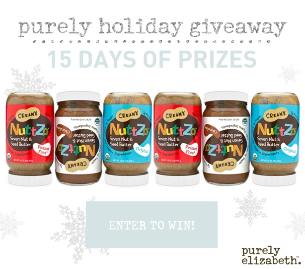 Purely Holiday Giveaway Nuttzo