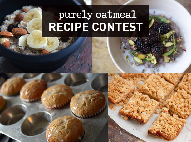 Purely Oatmeal Recipe Contest Entries
