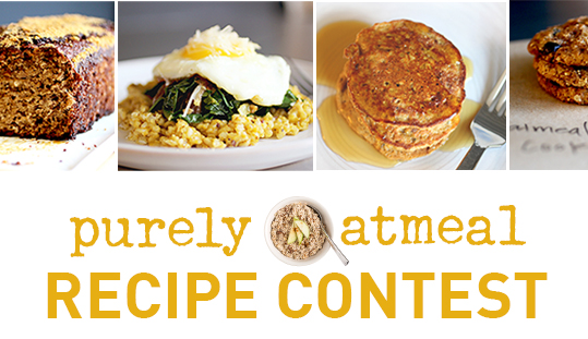 Purely Oatmeal Recipe Contest Newsletter Image 2