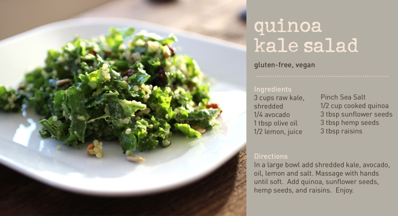 Quinoa Kale Salad