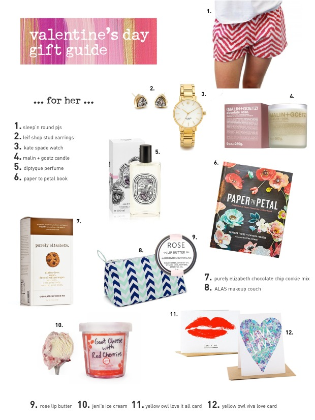 valentines day gift guide for her - Valentines Day Gift Guide