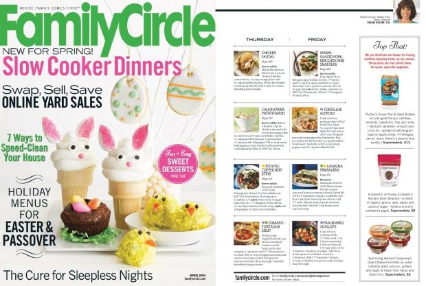 Family Circle April 2014