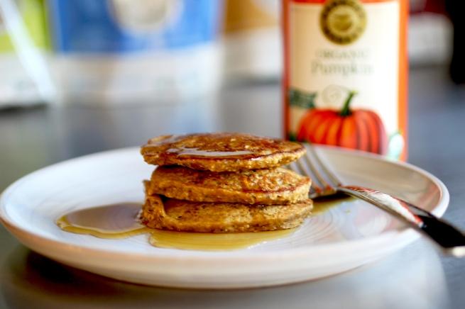 Pupmkin Pancakes 1