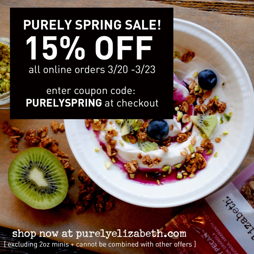 Purely Spring Sale