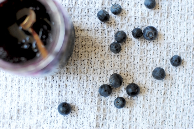Blueberries and Lavender Sauce