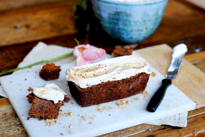 Carrot Cake | Purely Spring Magazine, a purely elizabeth publication. #glutenfree #healthy