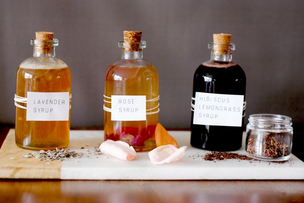 Floral Syrups