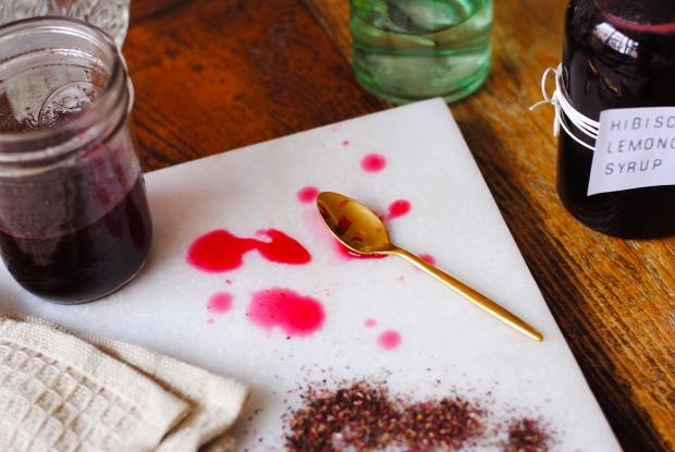 Hibiscus Lemongrass Syrup