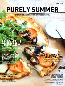 Purely Summer Magazine Cover