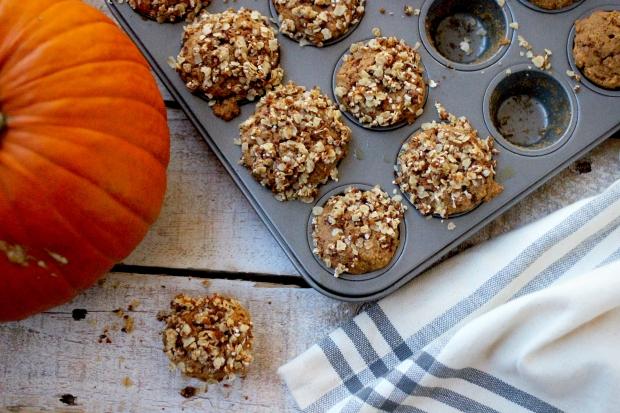 Pumpkin Oat Muffins | purely elizabeth