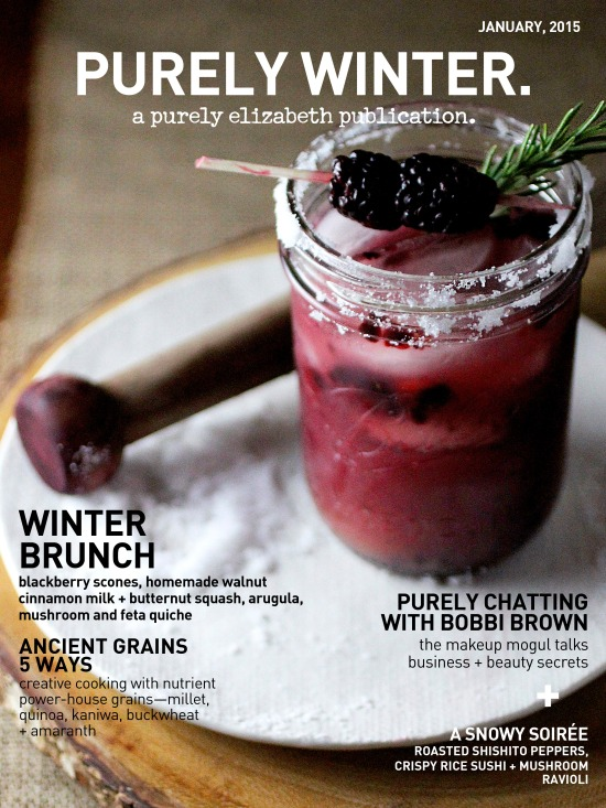 Purely Winter Magazine 2015 Cover