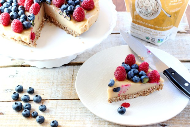 Purely Vegan Cheesecake
